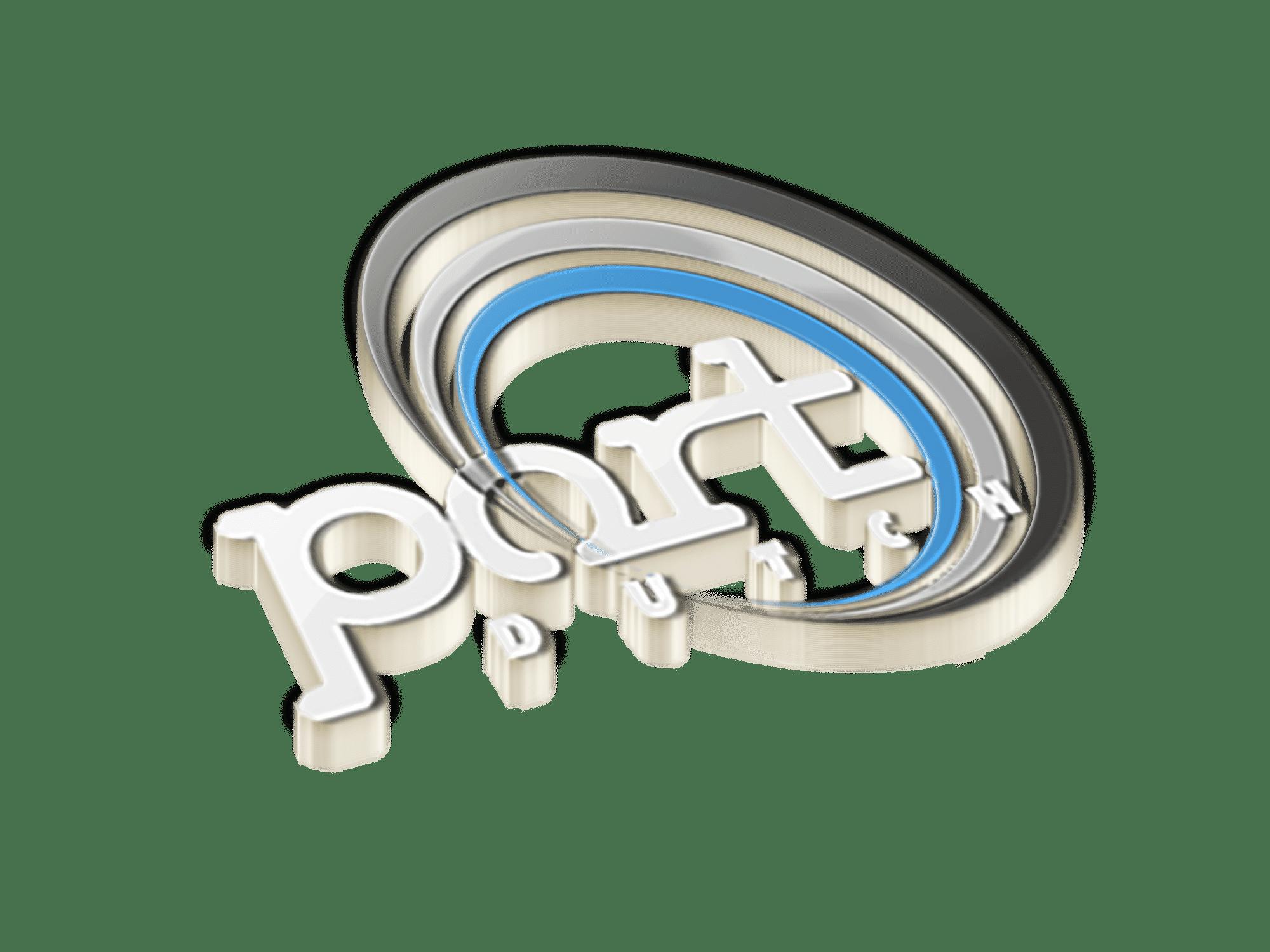 Logo Portdutch transparant