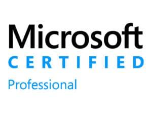 Microsoft Certified Pro